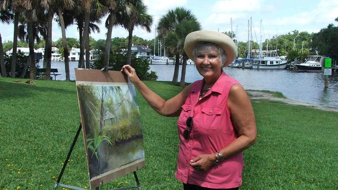 Barbara Smythers tried watercolor, oils and mixed media before finding her true love, pastels.