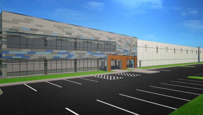 A new distribution center and offices for Discount Ramps are being proposed for Germantown's Willow Creek Business Park.