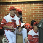 Rofl head coach Dan McDonnell gives instructions during the UofL baseball game against University of Kentucky at Cliff Hagan Stadium in Lexington, Ky., on Wednesday, April 13, 2016.
