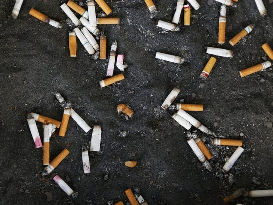 Smoking is among the unhealthy stress coping mechanisms the Prevention Resource Center hopes to measure and reduce.