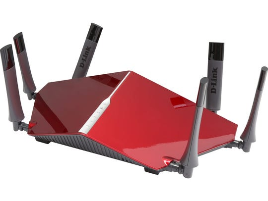 The D-Link Wireless AC3200 Tri-Band Gigabit Router