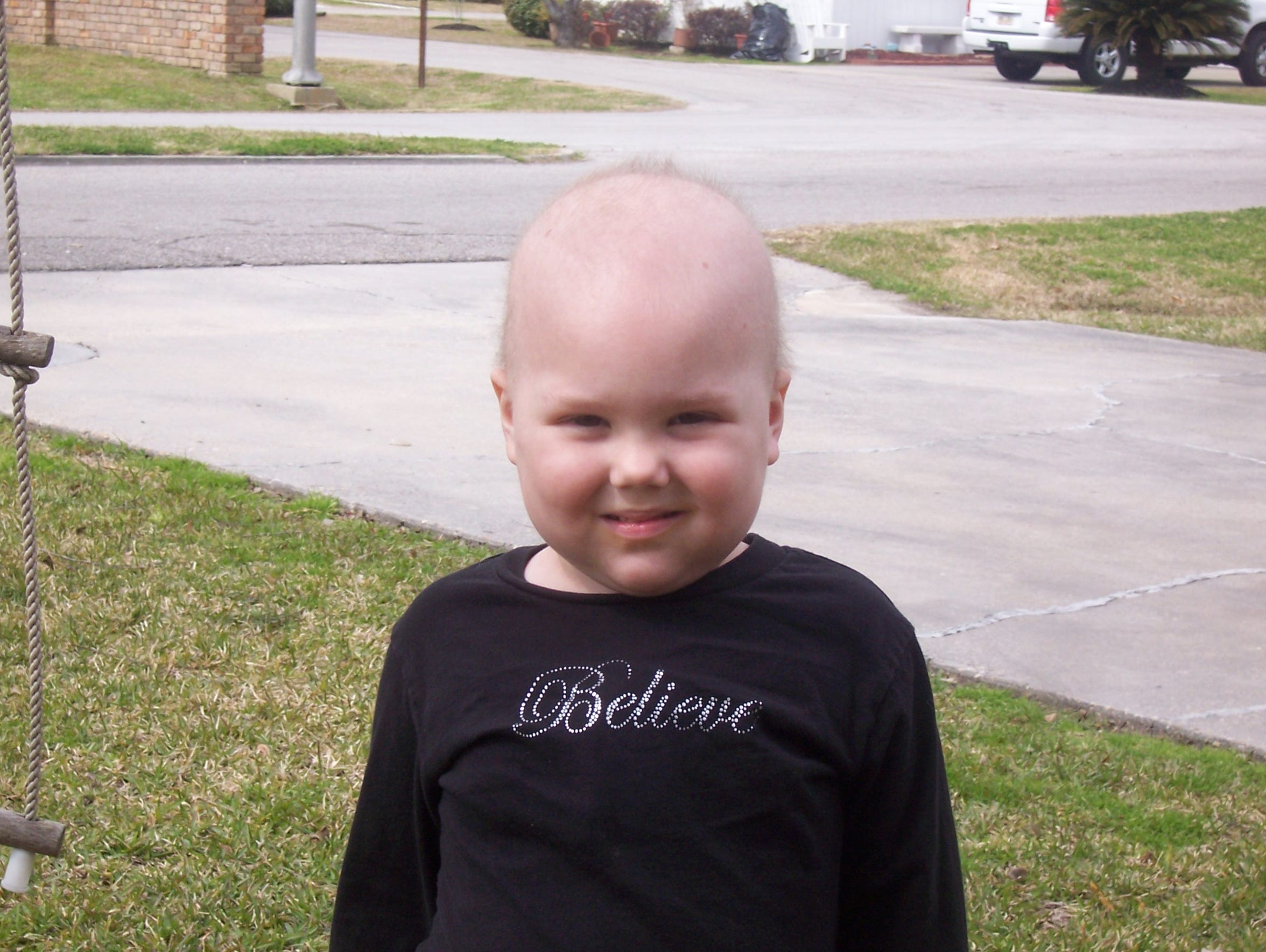 Kacie Francois was diagnosed with leukemia at age 3.