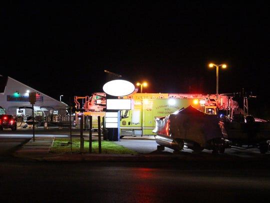 The Bethany Beach Volunteer Fire Company responded