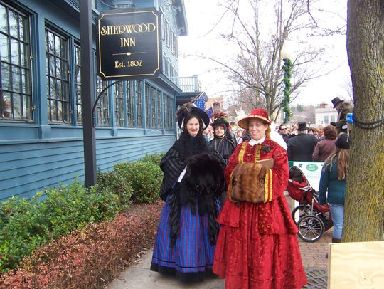 For the holidays, Skaneateles becomes an old-time winter