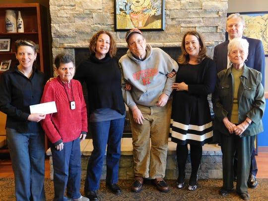 Unity Bank recently donated $2,500 to the Adult Day Center (ADC) of Somerset County. Pictured (from left) are Diann Robinson, ADC Executive Director; Donna Moehler, ADC member; Stacy Scelfo, ADC Social Services Coordinator; Greg Gibson, ADC member; Wendy Ewen, Unity Bank Somerville Branch Relationship Manager; Joanne Jack, Unity Bank Somerville Branch Personal Banker Somerville; and Michael Novak, Unity Bank Senior Commercial Loan Officer.
