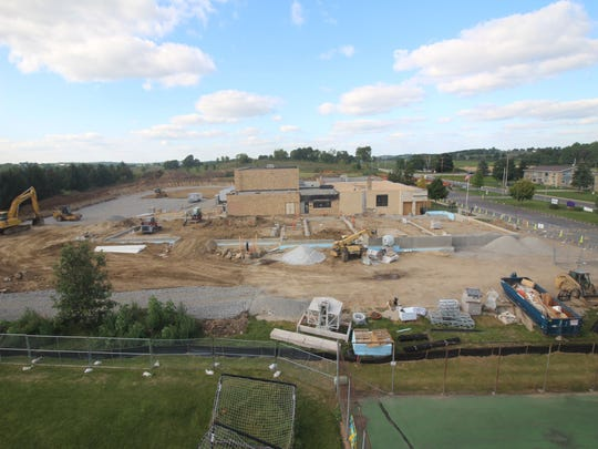Ixonia Elementary School is undergoing construction as part of an $8.2 million upgrade that was approved by voters as part of a $54.9 million referendum in Nov. 2016.