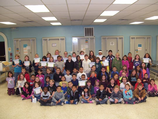 Seventy-nine North Elementary School students were