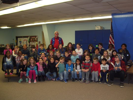 Fifty-nine Holloman Elementary School students students