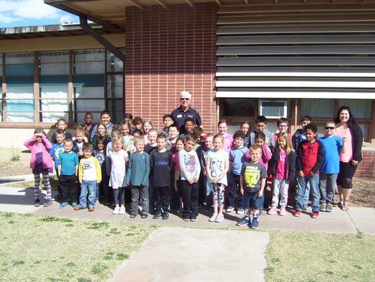 Holloman Elementary School had 45 students qualify