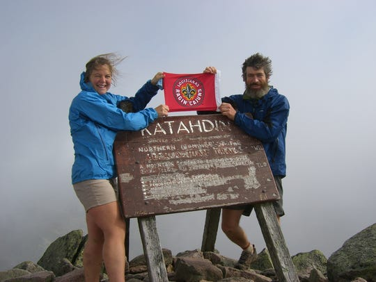 Pack and Paddle owners on an Appalachian Trail hike.