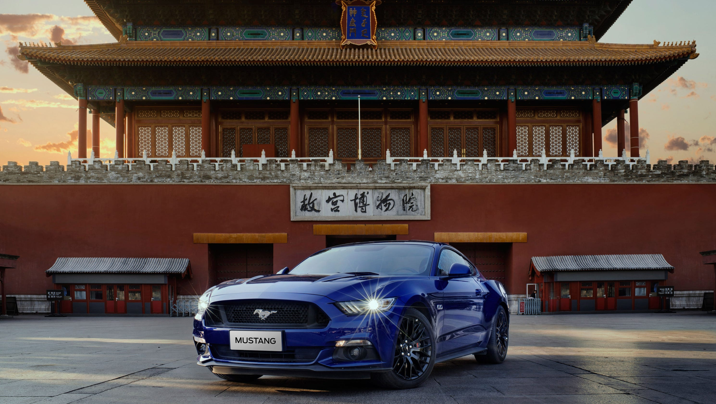 Mustang is a hit with Chinese buyers, Ford says
