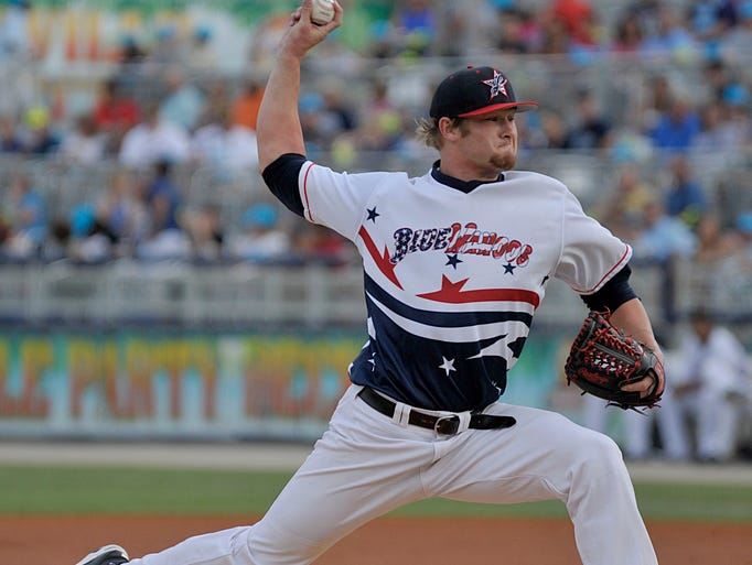 Hometown favorite Ben Lively pitches his second game in Pensacola with the Blue Wahoos on Thursday night at the Wahoos stadium.