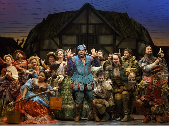 """Something Rotten!"" was nominated for 10 awards, including"