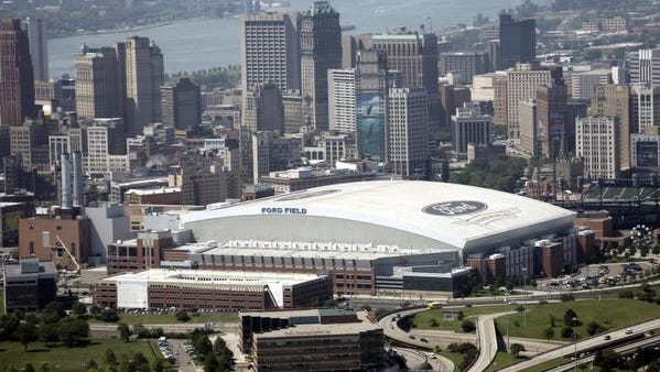MLS officials have stressed soccer-specific sites, but also those in urban cores like Ford Field, above.