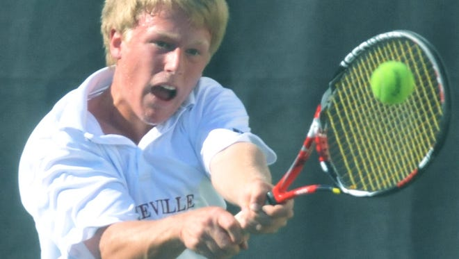 Asheville High alum Stuart DePaolo now plays college tennis for North Carolina.