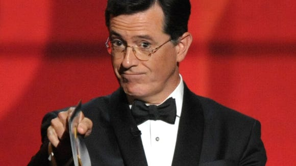 Stephen Colbert will replace David Letterman.