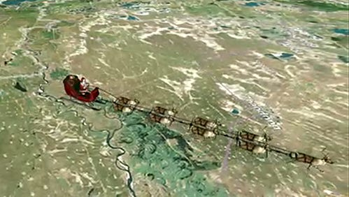 Santa's trip