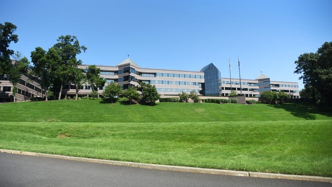 Real estate photo of the site where generic drug company Teva Pharmaceuticals is coming, located at 400 Interpace Pkwy in Parsippany. The company is expanding its office there to serve as its USA headquarters. Photographed on 08/05/18.