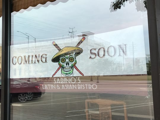 Sabino's Latin & Asian Bistro is one of several new restaurants on the way in the Fox Cities.
