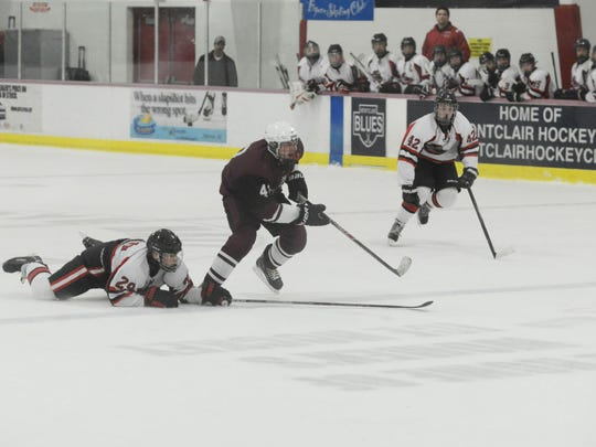 The annual Passaic County Ice Hockey Tournament gets