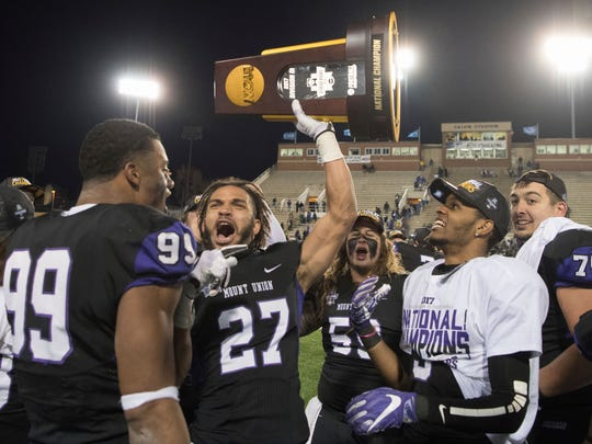 Mount Union, which has won a record 13 Division III national titles, is one of the many college football playoff teams that Iona College professor Jack Breslin has enjoyed watching in high-stakes games around the country.