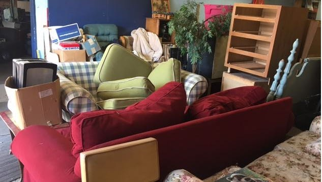 Furniture, appliances, holiday decor, dishes, blankets, records, books, pet supplies, shoes, clothes, purses are among the hundreds of items at the annual Lexington Senior Center Rummage Sale Thursday through Saturday from 9 a.m. to 4 p.m. at 365 S. Mill St. Payment is by donation only.