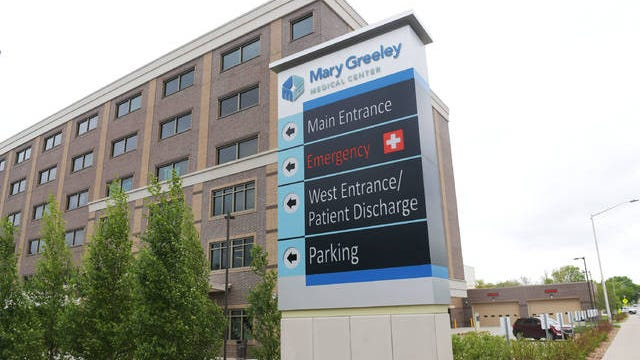 Mary Greeley Medical Center is easing the guidelines on its visitor policy beginning Tuesday. Tribune file photo