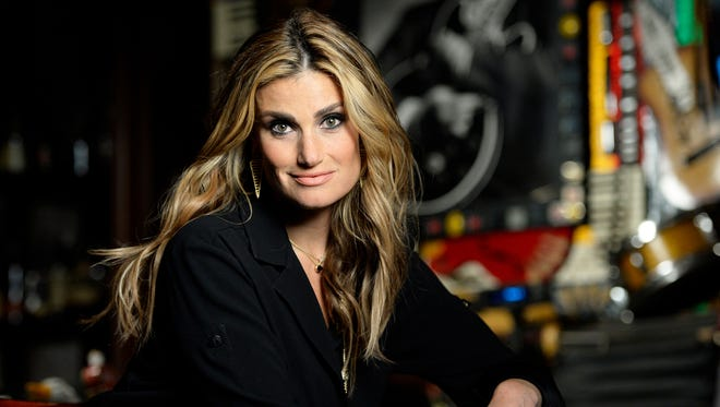 Idina Menzel's world tour makes a stop at Comerica Theatre on Sunday.