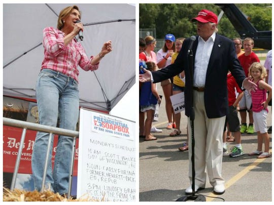 Who dressed best for the Iowa State Fair -- Carly Fiorina