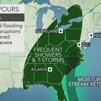 More muggy days, wet nights ahead for Delaware