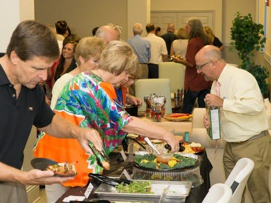 Over a dozen local restaurants generously donated their
