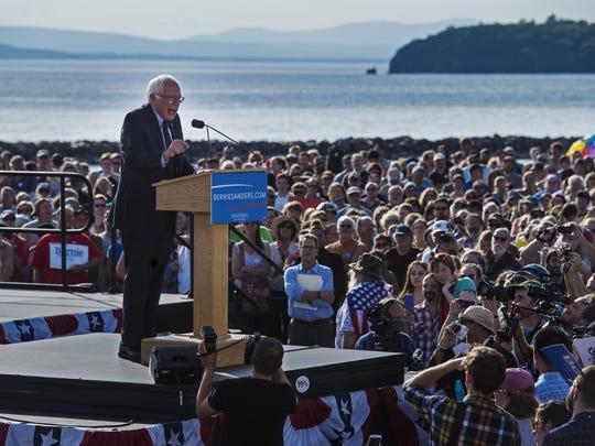Sen. Bernie Sanders, I-Vt., announces he is a candidate