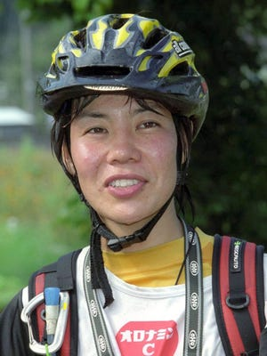 This September, 2001 photo, shows mountaineer Kei Taniguchi, who climbed Mount Everest in 2007 and became the first woman to win the prestigious Piolet d'Or (Golden Ice Axe) mountaineering award in 2009.