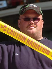 Ira Walker Jr., shown at an emergency drill exercise, says 'The innocence was lost' after 9/11.
