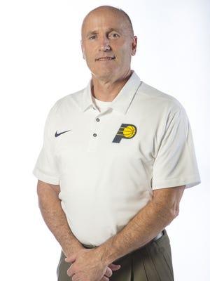 Indiana Pacers assistant coach Dan Burke