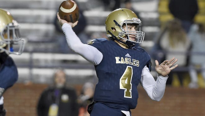 Independence quarterback Brandon Hines has been named the 2016 Region 5-5A MVP