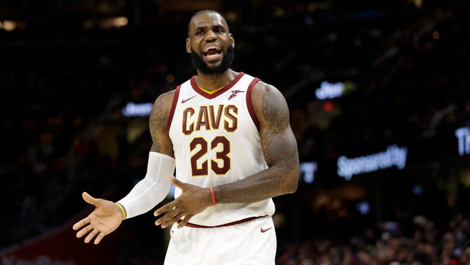 Cleveland Cavaliers' LeBron James said the team can't just rely on Isaiah Thomas' return to fix their problems.