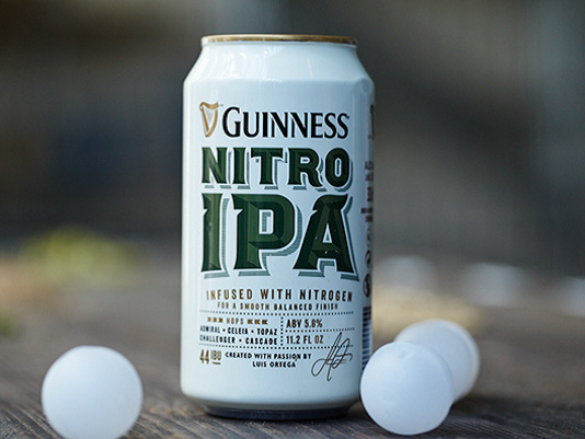 Nitro IPA from Guinness