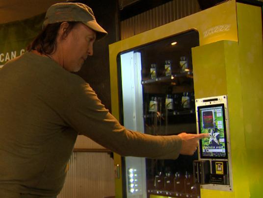 Zazzz Marijuana Vending - Custom Vending Machines