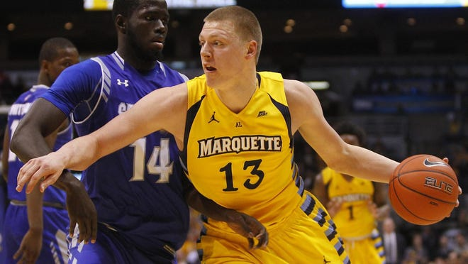 Henry Ellenson averaged 17 points and nearly 9.7 rebounds as a freshman at Marquette.