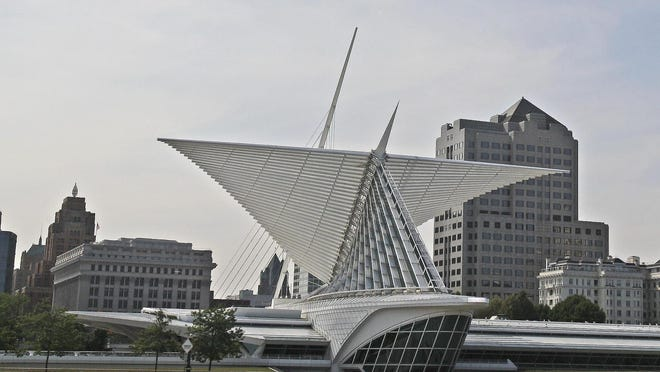 The Milwaukee Art Museum was named one of the country's most beautiful wedding venues by Conde Nast Traveler.