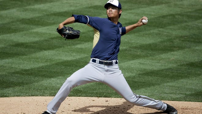 Wei-Chung Wang evened his record at 4-4 with Biloxi after pitching six innings of four-hit, one-run ball with four strikeouts on Monday against Pensacola.