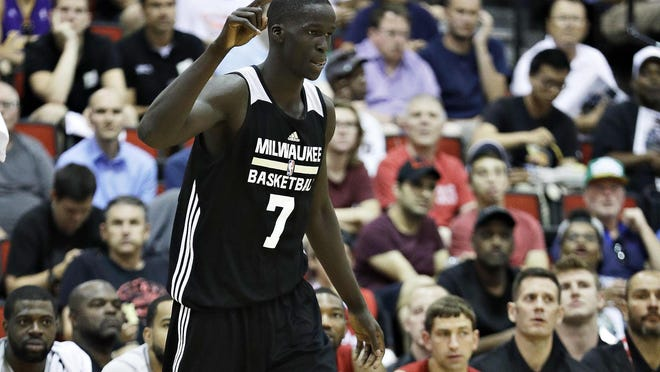 Thon Maker was named to the all-NBA summer league second team on Sunday night.