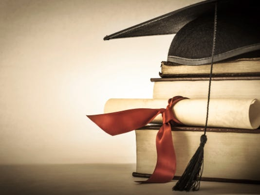 Graduation cap STOCK