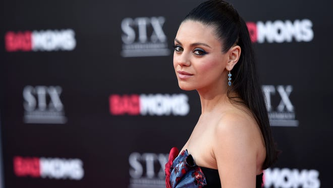 """Mila Kunis spoke about Mike Pence and Planned Parenthood on """"Conan."""""""