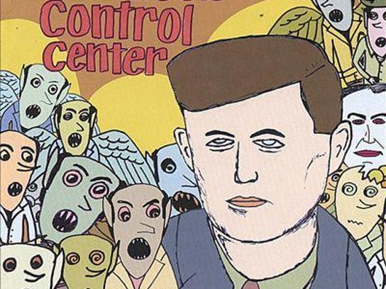 """Cover art for """"Kennedy,"""" The Poison Control Center"""