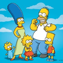 """Characters from the animated series """"The Simpsons."""""""