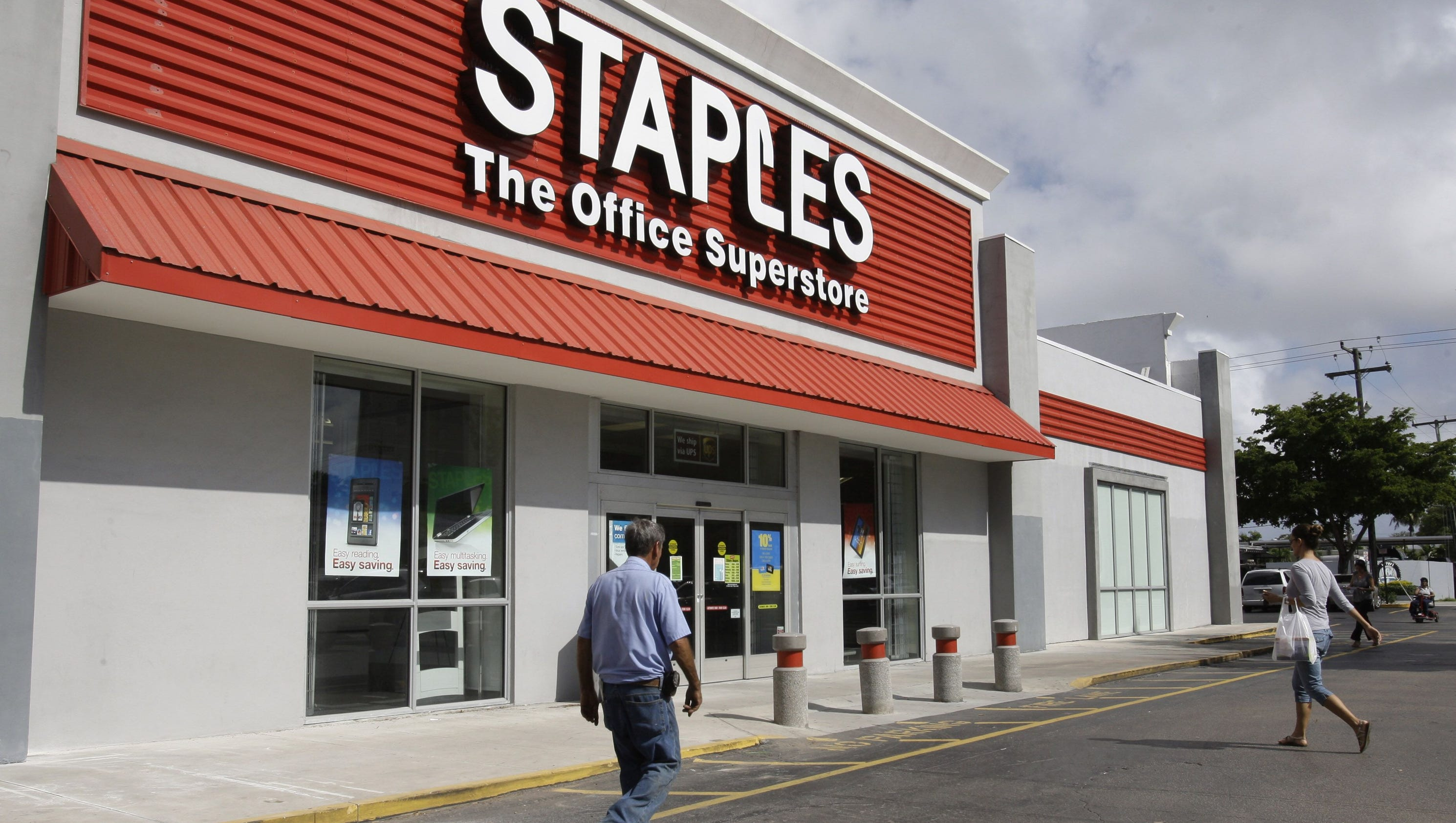 report staples could be sold to private equity investors