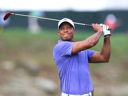 10-20-2014 Tiger Woods comeback