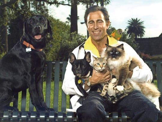 Celebrity vet Jeff Werber provides pet care to some
